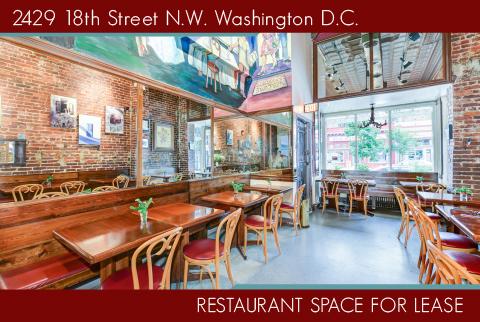 Restaurant For Lease: Property Website Details