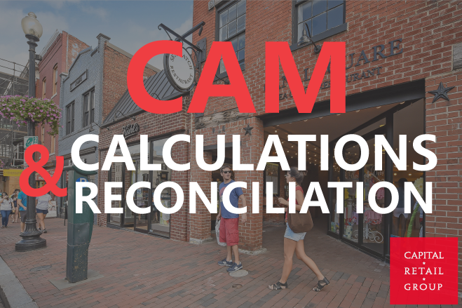 See Blog CAM Reconciliations