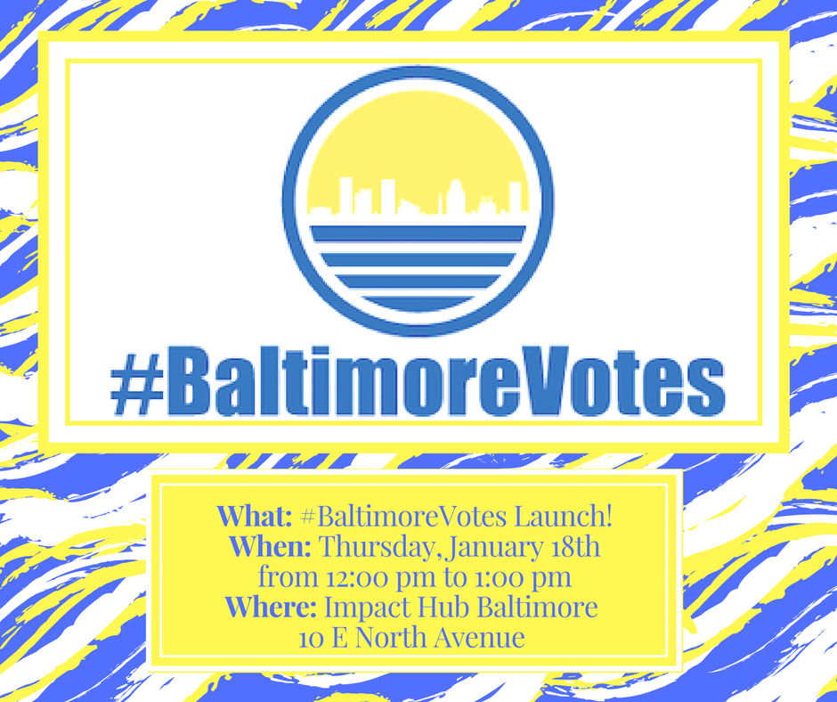 Baltimore Votes invite