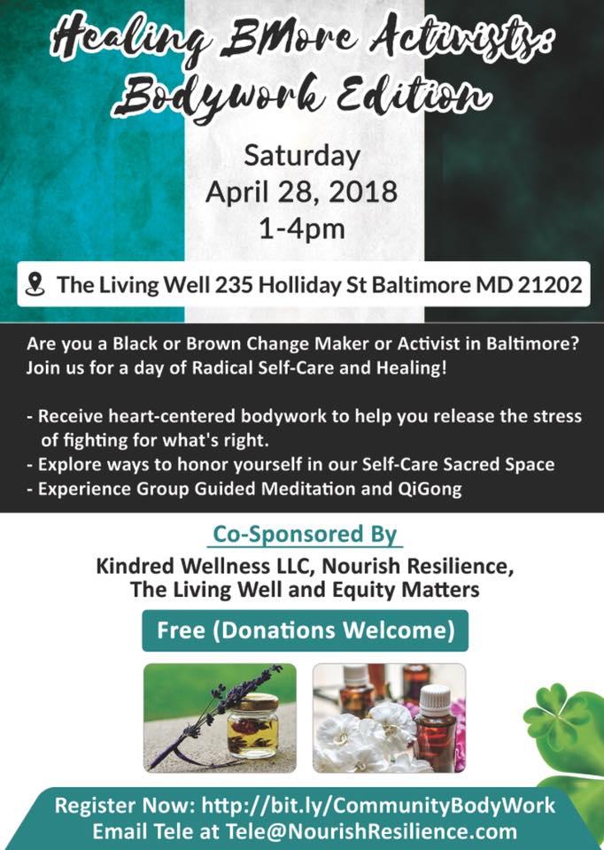 Healing Bmore Activists