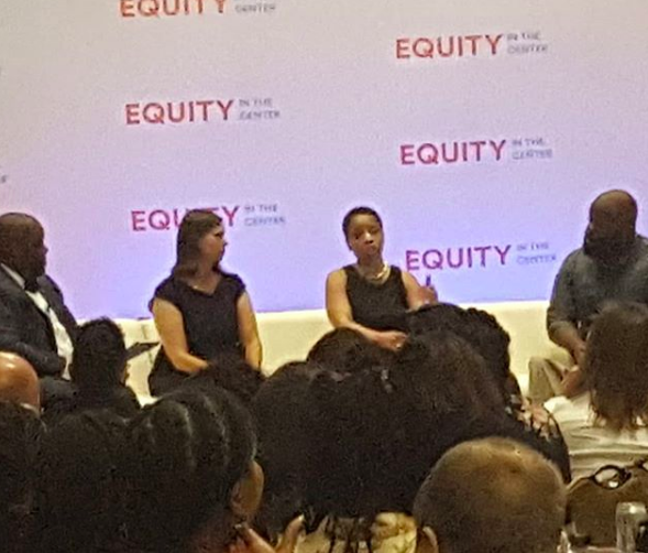Equity in the Center opening panel