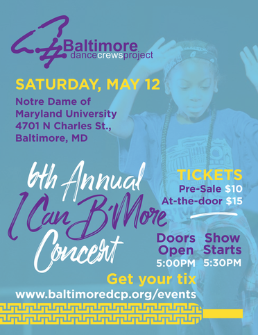 I Can Bmore Concert