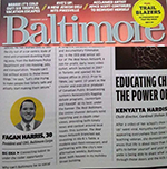 Baltimroe Magazine Visionaries feature