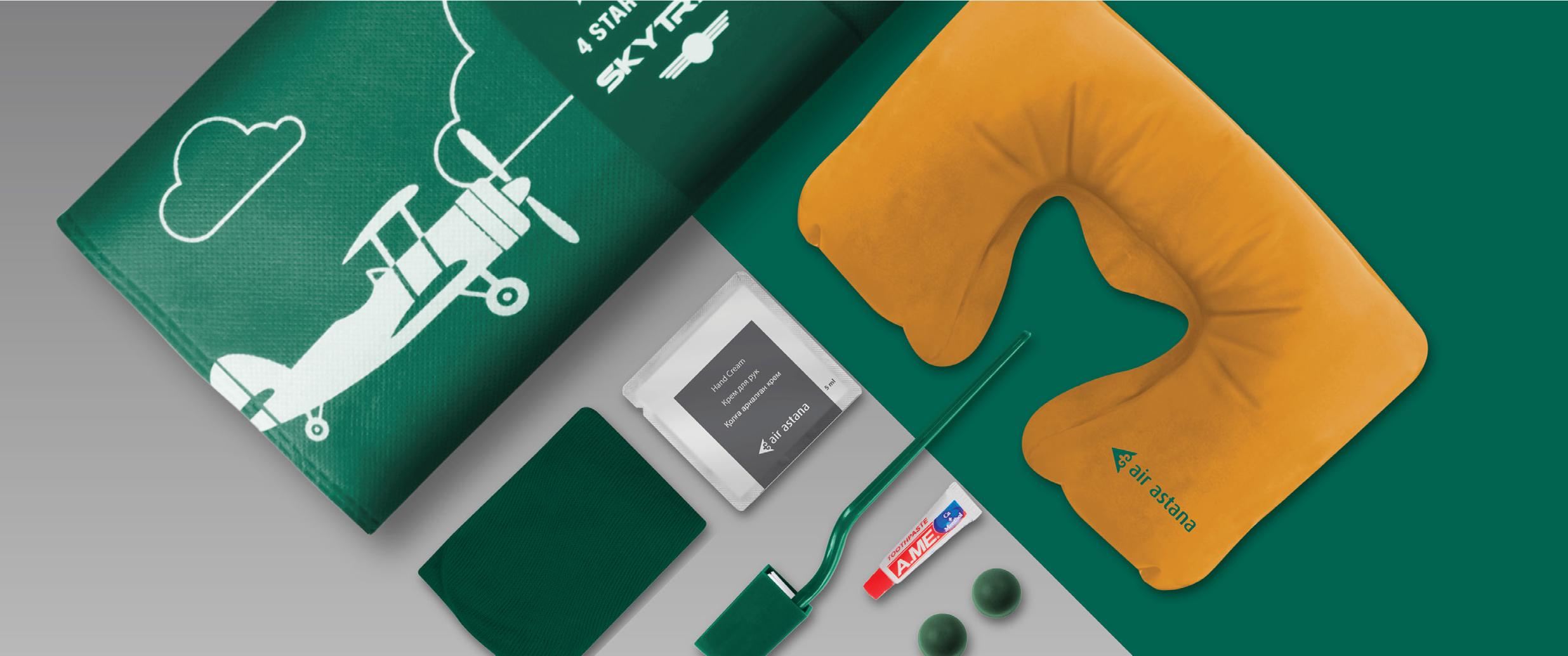 Air Astana Amenity Kit Kaelis